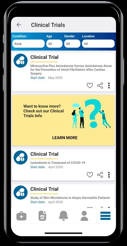 Clinical Trials Phone